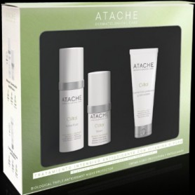 ATACHE PACK C VITAL ACTIVE FLUID 30 ML+SERUM 15 ML+CREMA ANTIOXIDANTE 50 ML