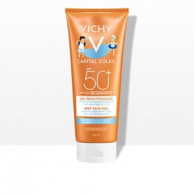 VICHY CAPITAL SOLEIL NIÑOS SPF50+ WET SKIN GEL 200 ML