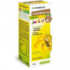 ARKOREAL APETIT JUNIOR NIÑO JARABE CON JALEA REAL 150 ML