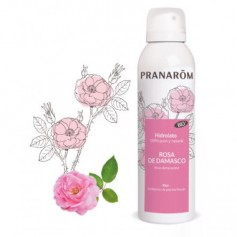 PRANAROM HIDROLATO DE PETALOS DE ROSA DE DAMASCO SPRAY 170 ML
