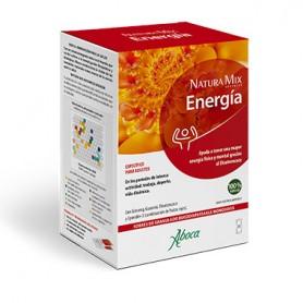 ABOCA NATURA MIX ENERGIA CON ELEUTEROCOCO 20 SOBRES BUCODISPERSABLES