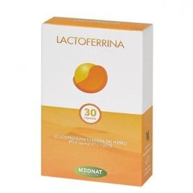 MEDNAT LACTOFERRINA GLUCOPROTEINA FIJADORA DEL HIERRO 30 CAPSULAS