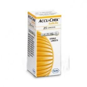 ACCU-CHEK SOFTCLIX-2 LANCET 25 LANCETAS