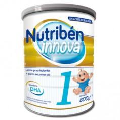 NUTRIBEN INNOVA 1 LECHE PARA LACTANTES DE 0-6 MESES SIN ACEITE DE PALMA 800 GR