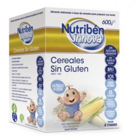 NUTRIBEN INNOVA CEREALES SIN GLUTEN DE ARROZ Y MAIZ PARA BEBE 600G