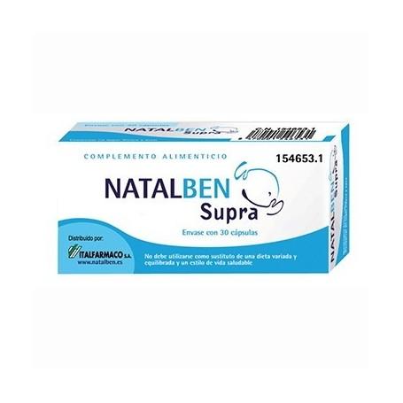 NATALBEN SUPRA 30 CAPSULAS