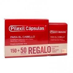 PILEXIL ANTICAIDA CAPILAR CON L-CISTINA, HIERRO Y ZINC 150 CAPSULAS+ 50 REGALO