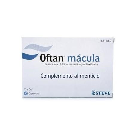 OFTAN MACULA COMPLEMENTO ALIMENTICIO CUIDADO OCULAR 90 CAPSULAS