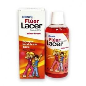 FLUOR LACER FRESA COLUTORIO 500 ML