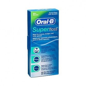ORAL B SEDA SUPERFLOSS 50 U