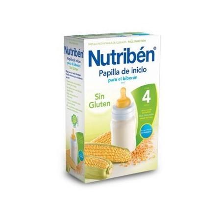 NUTRIBEN PAPILLA INICIO BIBERON SIN GLUTEN 600 G